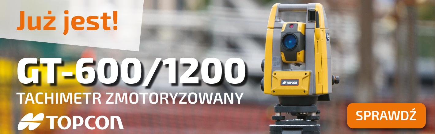 NOWOŚĆ TOPCON GT-600/1200 >>SPRAWDŹ